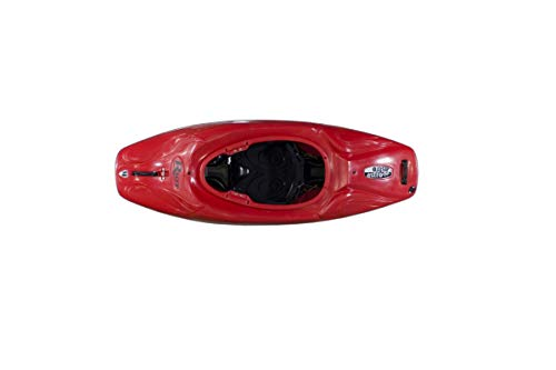 Riot Astro 58 Kayak Boat - Dynamic Freestyle Sit in Kayak - Whitewater Kayaking for Waves and Holes - Suitable for Ocean Bays, Seas, Lakes, Ponds - HDPE Play Boat Kayak - Red Color