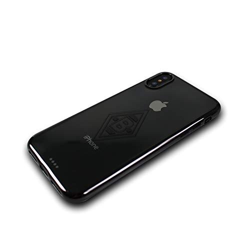 Borussia Mönchengladbach Case - Mittelstürmer - Schutzhülle passend für das Apple iPhone XS und iPhone X