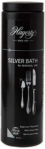 Hagerty Silver Bath Baño de inmersión para la rápida limpieza de la plata y la protección contra la oxidación 580 ml
