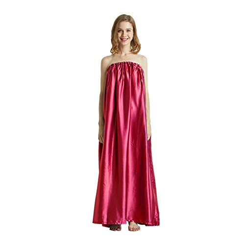 XHXseller Steam Gown, Sauna Loose Gift Bath Robe, full body covering, soft and sleek fabric, eco-friendly,Sauna Steam Cloak for Home Fumigation Bathrobe,Spa Tent Body Therapy Steam Generator