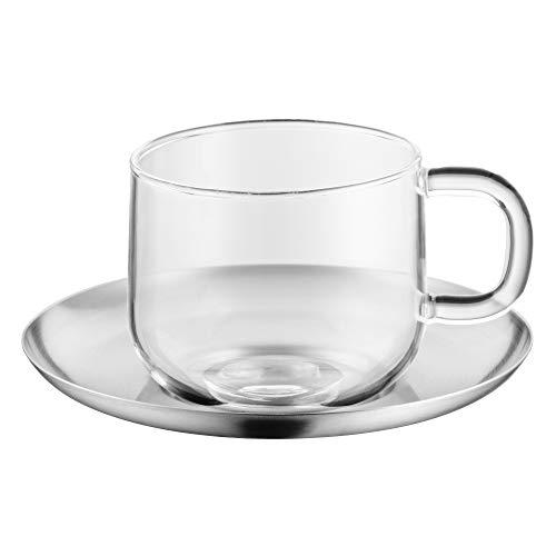 WMF SensiTea Teetasse mattiert Untertasse