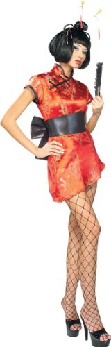 Secret Wishes Women's Japanese Lady Adult Costume - Multi - Mediu