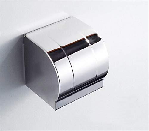 Edelstahl 304 Toilettenpapierhalter Papierhalter WC Rollenhalter Klopapierhalter Halter Geschlossener Kasten