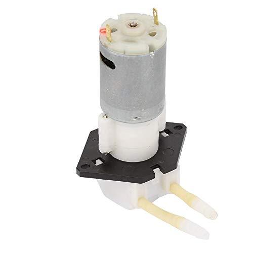 wosume Bomba peristáltica, bomba dosificadora DIY Cabezal de tubo peristáltico para laboratorio de acuarios Análisis químico Bomba peristáltica(24v)
