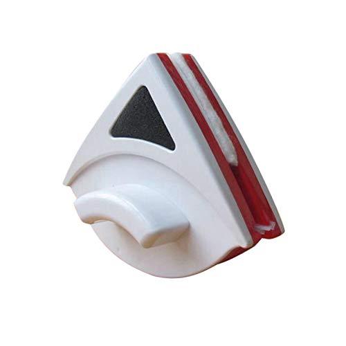 YLiansong-home Escobilla de Goma para Ducha Limpiador de Vidrio de Vidrio de Gran Altura de Doble Cara Limpiador de Vidrio de Doble Capa Cleaner de Vidrio Hueco para Ventana de Vidrio