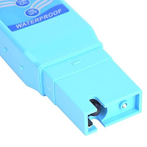 Evonecy Probador de pH, medidor de pH, Utiliza ampliamente el Nivel Dual para Piscinas de Agua Potable doméstica
