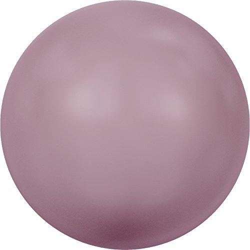 Cristaux de Swarovski 860214 Perles Nacrées 5810 MM 4,0 Crystal Powder Rose Pearl, 500 Pièces