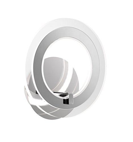 WOFI A+ Wandleuchte Metall 9 W Integriert, Chrom 4146.01.01.0000