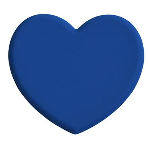 ZJY Nordic Hot Love Linda Silicona Mats Bebida Posavasos Copa Platos Mesa Pad Placemats MesaWare Vajilla Accesorios de Cocina (Color : Blue)