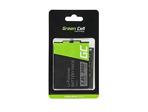 Batería de repuesto interna Green Cell BM47 compatible con Xiaomi Redmi 3 3S 3X 4X | Li-Polymer | 3220 mAh 3.85 V | Batería de reemplazo para teléfono móvil del smartphone | Recargable