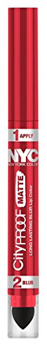 NYC City Proof Matte Blur Lip Color - Red High Line