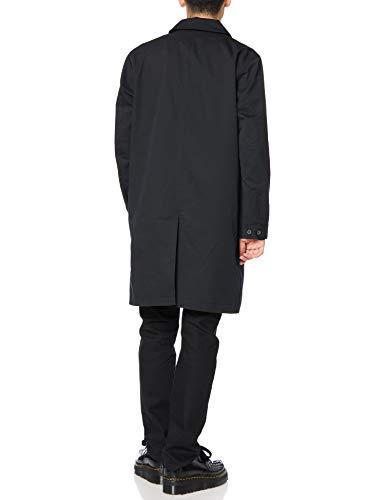 [フレッドペリー] ステンカラーコート OVER COAT F2646 メンズ BLACK UK S (日本サイズM相当)
