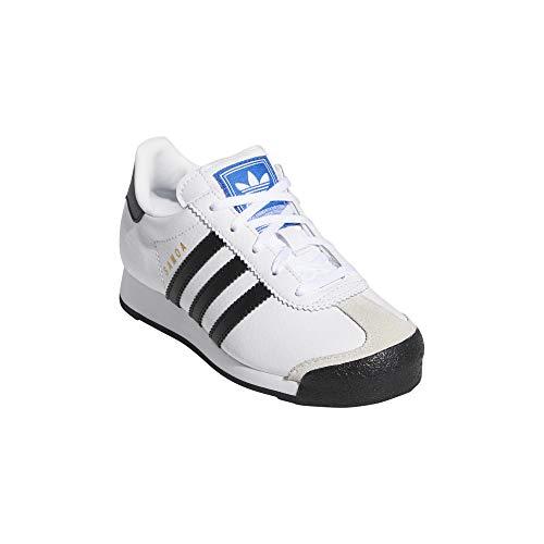 Adidas ORIGINALS Samoa C Weiß/Schwarz Leder EU 30½