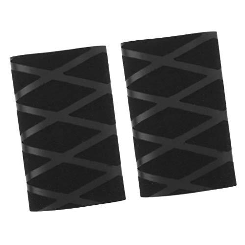 perfeclan 2 Piezas De Goma Antideslizante Ping Pong Bat Handle Grip Table Tennis Racket Paddle Overgrip Tape Replacement
