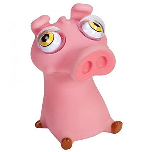 Warm Fuzzy Toys Poppin Peeper Animals (Pig)