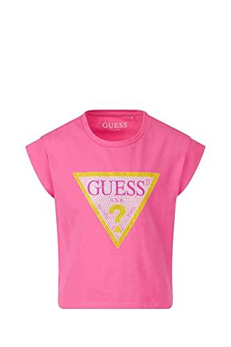 GUESS KIDS J1RI26K6YW1 T-Shirt Manica Corta Bambina Fuxia 10A