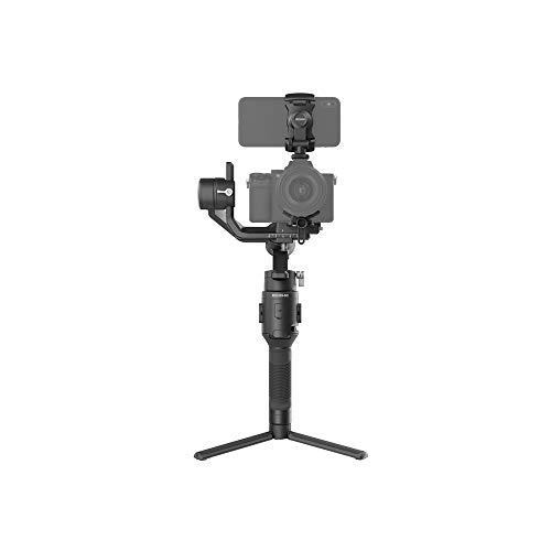 DJI Ronin-SC - Estabilizador Profesional portátil de 3 Ejes, para cámara sin Espejo, Ligero, Compacto, hasta 2 kg de Peso, diseño Innovador, Compatible con Sony/Nikon/Canon/Panasonic/Fujifilm