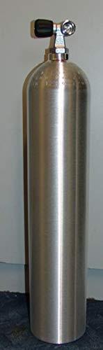 HTD Aluminium Tauchflasche 11,1 L (80cuf), 200 bar komplett