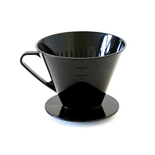 axentia Kaffeefilter, Kaffeedauerfilter, Kaffeebereiter, Permanentfilter aus Kunststoff, für 4 Tassen - Made in Germany