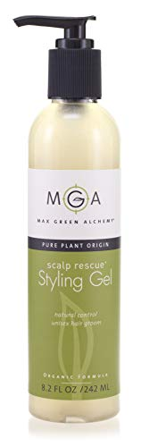Scalp Rescue Styling Gel 260ML, Organic Unisex Formula Controls Frizz and Fly Away Hair, Curly Hair...