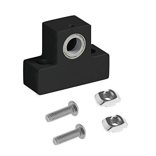 Kit di supporto per stampante 3D asse Z T8 viti per la madre in nylon, kit di supporto di montaggio superiore, sedile compatibile con Ender 3 Pro CR10