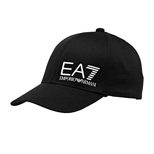 Ea7 emporio armani Core Big Logo Baseballkappe, Schwarz Gr. Einheitsgröße, Schwarz
