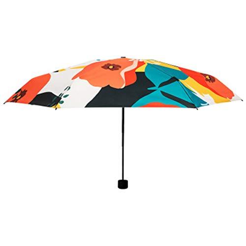 Paraguas de Sol de impresión Digital de Doble propósito, Paraguas de Sol de Vinilo Plegable personalización de Regalo