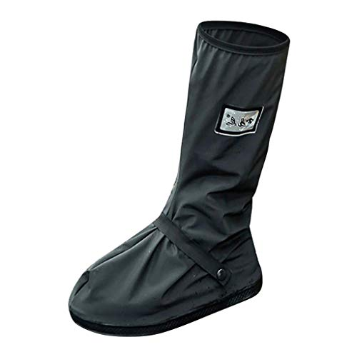 Yongqin Cubrezapatos Impermeables Para Hombres Zapatos Ligeros Para Hombres Al Aire Libre Impermeable Antideslizante Resistente Al Desgaste Cubrezapatos Para El Agua Zapatillas Hombre - A, M