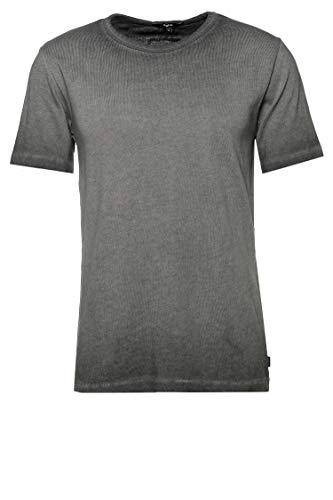 Tigha Herren T-Shirt Lafan Schwarz M