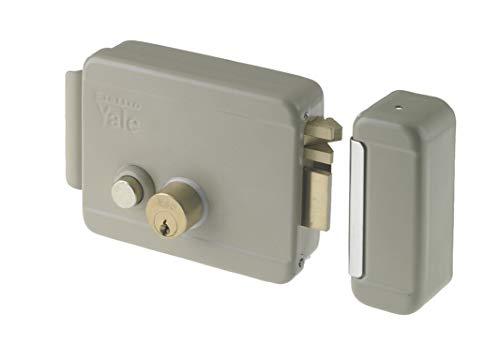 YALE Serratura elettrica da applicare Y68800702 SX C/K e pulsante
