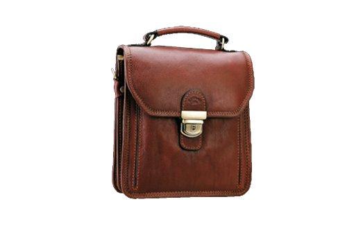 Katana Tasche aus Rindsleder Gras K 31019, Braun - braun - Größe: Einheitsgröße