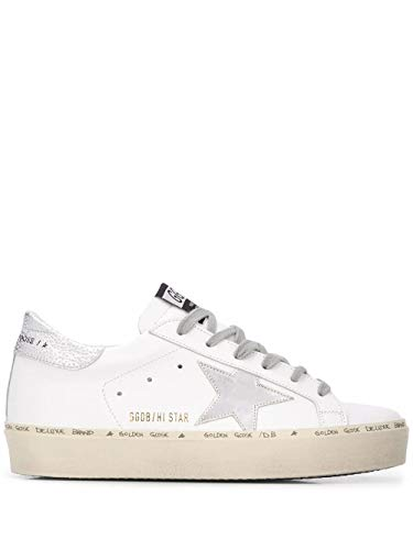 Golden Goose Luxury Fashion Donna GWF00118F00032980185 Bianco Pelle Sneakers | Autunno-Inverno 20