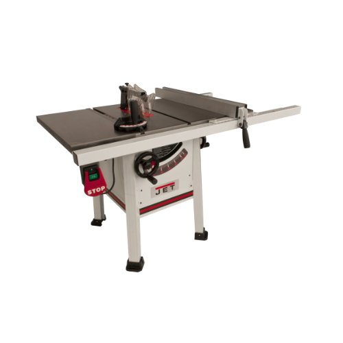 Jet Proshop Tablesaw with Wings and Riving Knife...