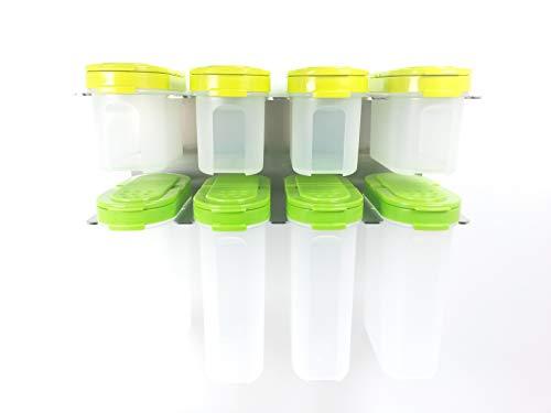 Tupperware Gewürzbehälter mit HL Halterung Gewürzregal