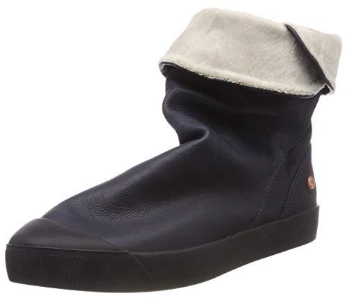 Softinos Damen KAZ469SOF Hohe Stiefel, Blau (Navy 002), 36 EU
