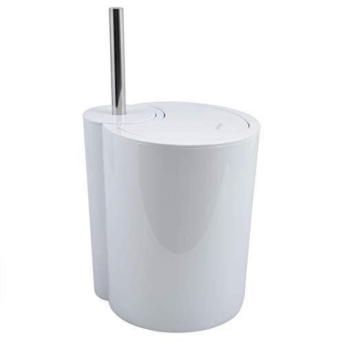 Spirella WC Bürste und Abfalleimer