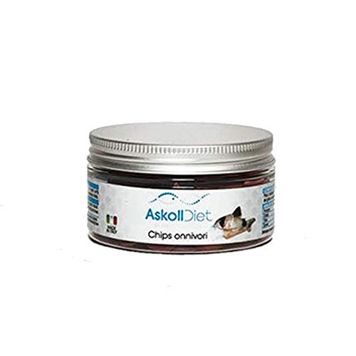 Askoll 280521 Diet Mangime per Pesci Chips Onnivori, S