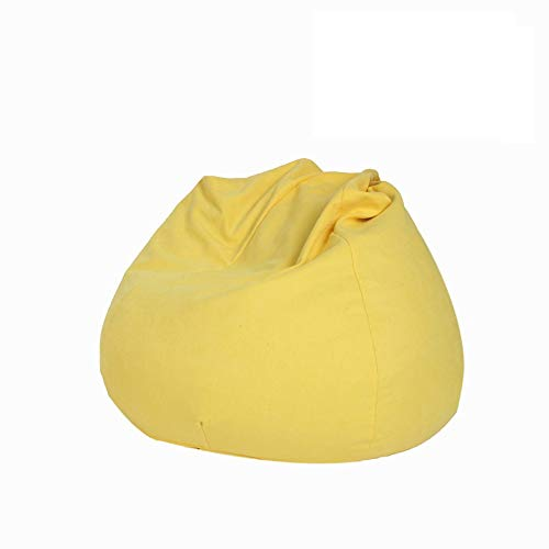 Xiao Long Faules Sofa Kleines Apartment Space Space Sitzsack Faules Sofa Abnehmbares und waschbares Faules Sofa Air Faules Sofa Sitzsack sitzsack (Color : Yellow)
