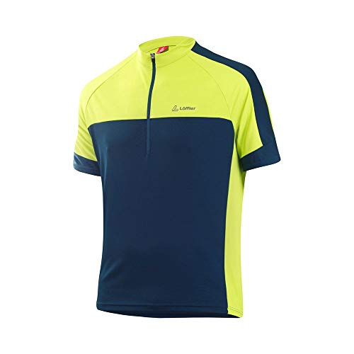 LÖFFLER Bike Shirt Halfzip Pace Herren - 23523 - Radtrikot