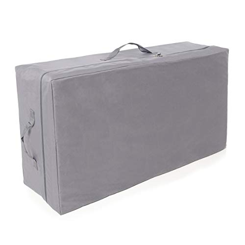 Milliard Carry Case for Tri-Fold Mattress, Fits up to 6 inch Queen (58 inches x 26 inches x 18 inches)