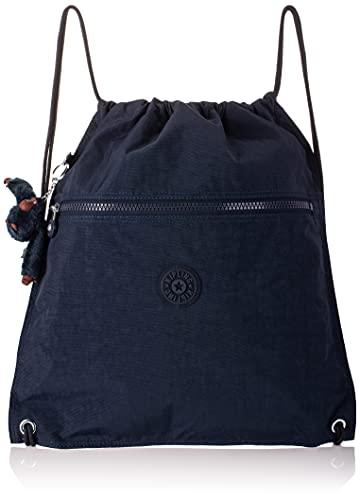 Kipling SUPERTABOO Mochila escolar, 45 cm, 15 litros, Azul (True Blue Tonal)
