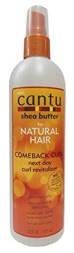 Cantu Shea Butter Natural Hair Comeback Curl Next Day Curl Revitalizer 355ml
