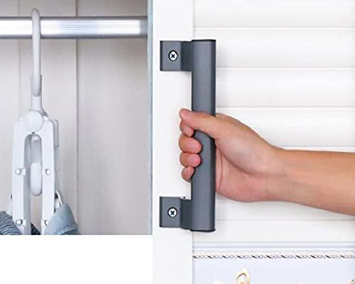 Maniglia per porta scorrevole in lega di alluminio maniglia per porta scorrevole in vetro per balcone maniglia per porta del bagno maniglia per porta dell'armadio maniglia moderna in metallo