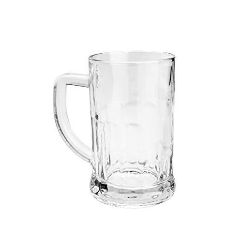 Caneca para Chopp e Cerveja de Vidro Lyor 6622 Transparente 565Ml