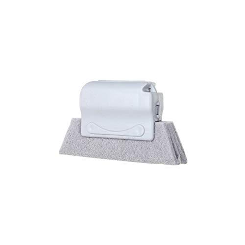 Hogar de cocina / Suministros de lavado / Me encan Ayudante de cocina 2 PCS multipropósito Ventana ranura de limpieza del hogar del cepillo limpiador herramienta de limpieza for la casa (blanco)