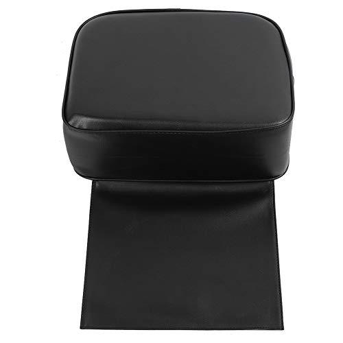 Cojín infantil Booster Salon, cómoda esponja, comodidad y altura, estilista profesional, herramientas de aseo personal para peluquería, tienda, hogar, salón, herramientas(black)