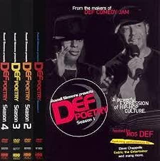 Russell Simmons Presents Def Poetry: Seasons 1-6 6-Pack
