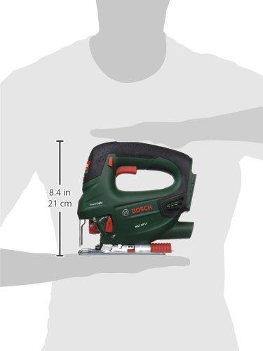Scie sauteuse sans fil Bosch - PST 18 LI (Livrée sans batterie 18V ni chargeur, avec 1 lame de scie bois T144D)