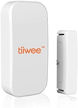 tiiwee Sensor de Ventana y Puerta TWWS01 para el Sistema de Alarma de Casa - Sistema de Alarmas Inalámbrico Anti-Robo...