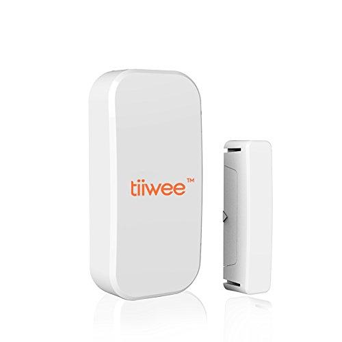 Tiiwee Sensore Finestra & Porta TWWS01 per il Tiiwee Home Alarm System - Sistema di Allarme Casa Wireless Anti-Effrazione - Sicurezza Domestica